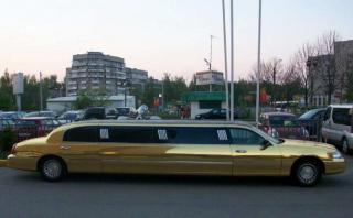 Линкольн Таун Кар (gold)