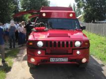 Мега Хаммер H2 red